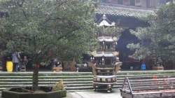 Courtyard at the temple